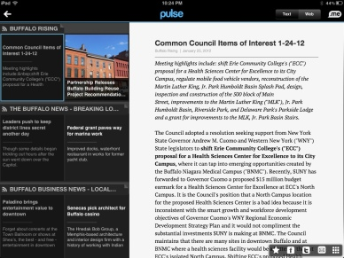 Pulse Reader for iPad
